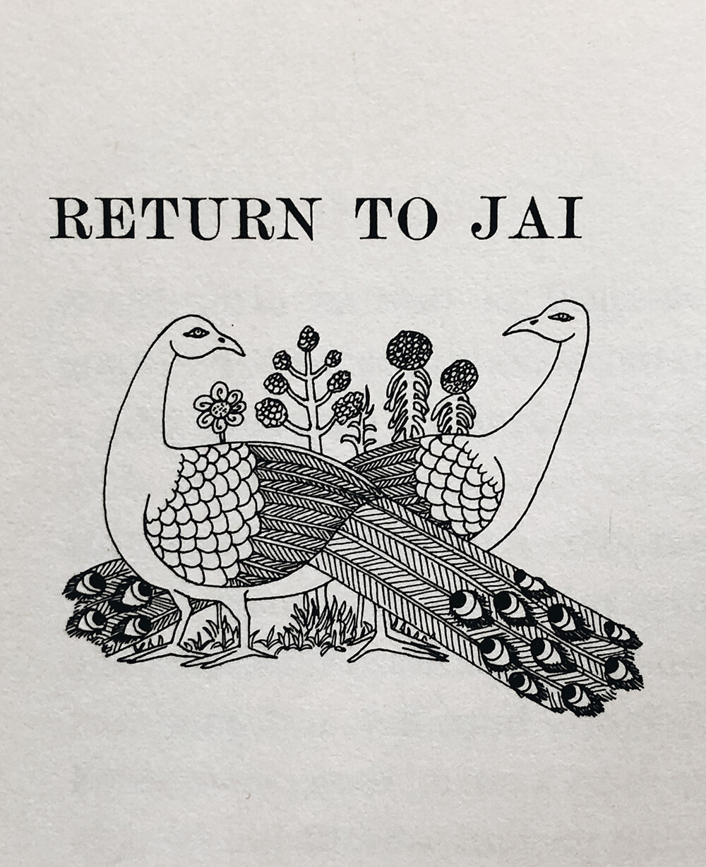"Detail illustration from ""The Seal of Jai"" by Elisabeth Benson Booz; Vintage children's book on Macmillan"